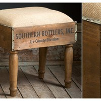 Foot Stool | Wooden Crates | Wooden Foot Stool