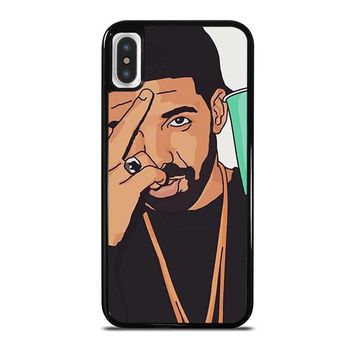 DRAKE ART iPhone X Case Cover