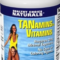 Tanamins Tanning Vitamin-Get a Darker Tan in Half the Time Without Expensive Tanning Beds-60 Count