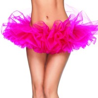Hot Pink Tutu - Organza Petticoats by Leg Avenue