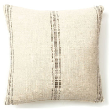 French Laundry Home, Classic Striped 20x20 Pillow, Godiva, Decorative Pillows