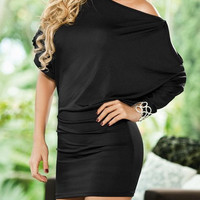 Cut Out Bodycon Mini Dress