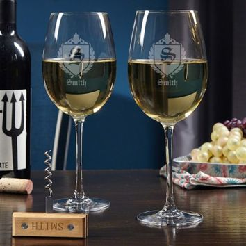 Oxford Custom Wine Glass Set