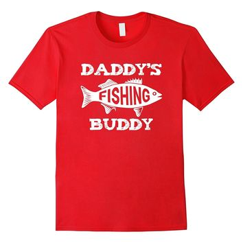 Cute Fishing Buddy Shirt Dad and Son Fathers Day Gift Boys