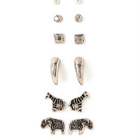 Wildlife Stud Earring Set