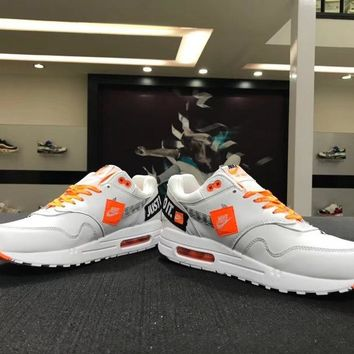 """Nike Air Max 1 """"Just do it """" 917691-100 Basketball Sneaker"""
