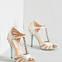 Betsey Johnson Luxe The Spectacular Vow Heel
