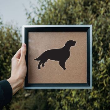Irish Red And White Setter Dog Vinyl Wall Decal (Permanent Sticker)