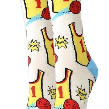 Dodgeball Women's Crew Socks