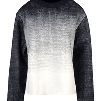 Proenza Schouler Neoprene Sweatshirt - Long Sleeve Sweater - ShopBAZAAR