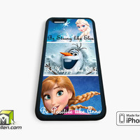 Disney Frozen Quote iPhone Case 4, 4s, 5, 5s, 5c, 6 and 6 plus by Avallen
