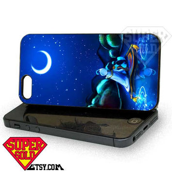 Disney Princess Romantic Jasmine - iPhone 4/4s/5 Case - Samsung Galaxy S3/S4 Case - Black or White