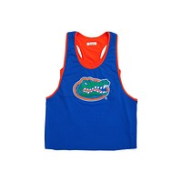 University of Florida Mesh Tank with Attached Sporty Bralette