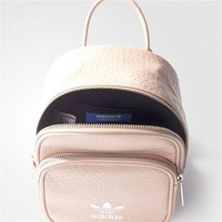 adidas Originals Mini PU Backpack In Pink