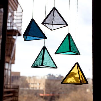 Stained Glass TRI Elements (set of 5)