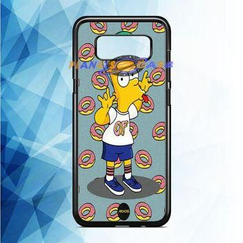 of supreme Bart Simpsons Samsung Galaxy Note 8 Case Planetscase.com