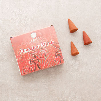 Flute Egyptian Musk Incense Cones