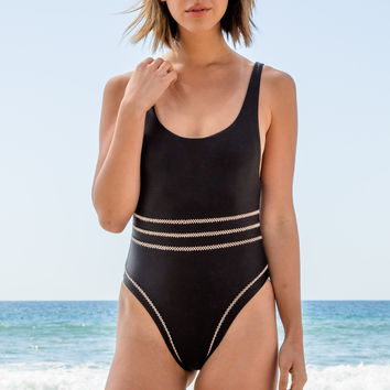 ELLEJAY - Belle One Piece | Black