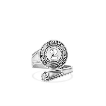 Number 2 Spoon Ring