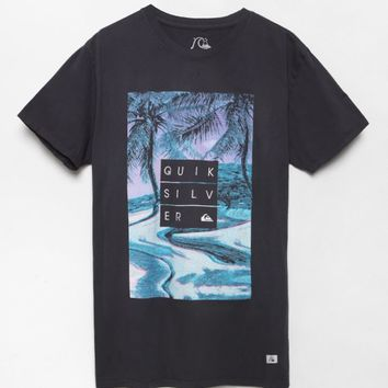 Quiksilver Hunter T-Shirt - Mens Tee - Black