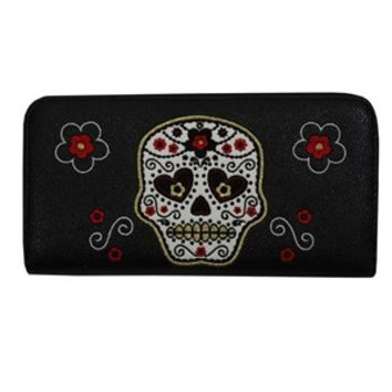 Banned Sugar Skull Purse - Buy Online at Grindstore.com