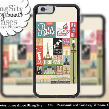 Retro Paris Love Iphone 6 case 6 Plus Eiffel Tower Vintage Magazine Ad Look Iphone 4 4s 5 5s 5c 6 6+ Ipod Touch Cover