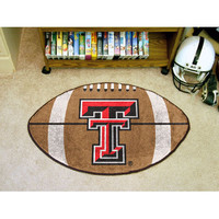 "Fan Mats Texas Tech Football Rug 22""X35"""