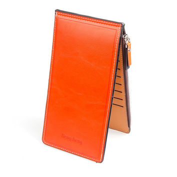 Slim Long Designer Famous Luxury Brand Women Wallets Lady Female Coin Purse Carteras Clutch Bag Walet Money Cuzdan Pocket Vallet