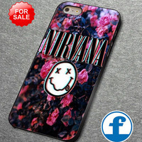 Nirvana  for iphone, ipod, samsung galaxy, HTC and Nexus PHONE CASE
