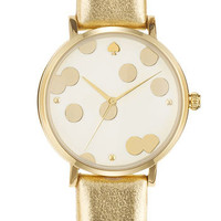 kate spade new york 'metro' patterned dial watch | Nordstrom