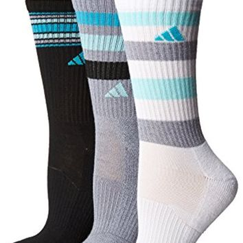 adidas Women's Cushioned Crew Sock (3 Pack)