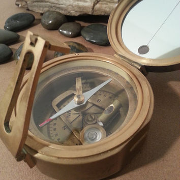 Brinton Compass Thos. J. Evans, Esq London. MKI 1914