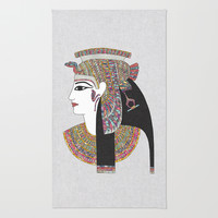 EGYPTIAN GODDESS Rug by Bianca Green
