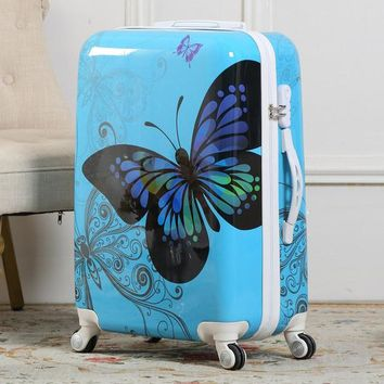 Butterfly kid's Suitcase