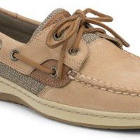 Sperry Top-Sider Bluefish Washable 2-Eye Boat Shoe Sand, Size 5M  Women's Shoes