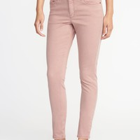 Mid-Rise Sateen Rockstar Jeans for Women | Old Navy