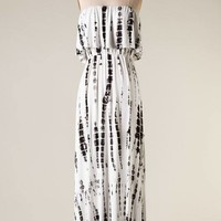 Touch of Tie Dye Maxi in Ivory