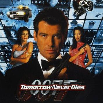 Tomorrow Never Dies movie poster Sign 8in x 12in