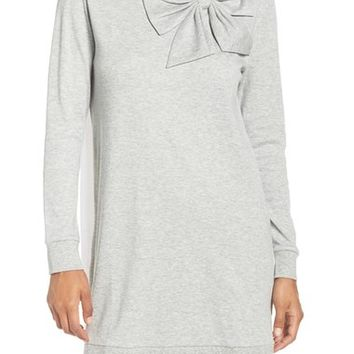 kate spade new york interlock big bow sleepshirt | Nordstrom
