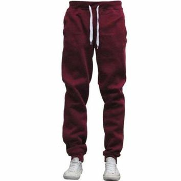 Velvet Sweatpants Men Warm Thick Fleece Lined Sweat Pants  Tracksuit Bottoms Warm Long Track Pants Plus Size 3Xl