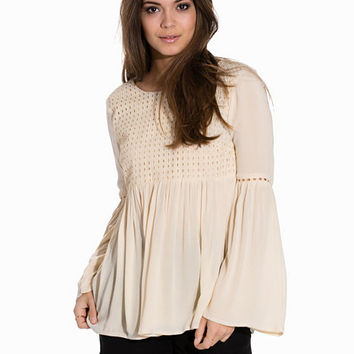 onlLUPINA L/S TOP WVN, Only