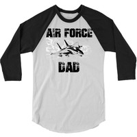 air force dad 3/4 Sleeve Shirt