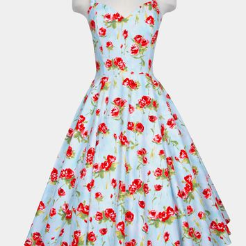 Vera dress in Long Stem Roses
