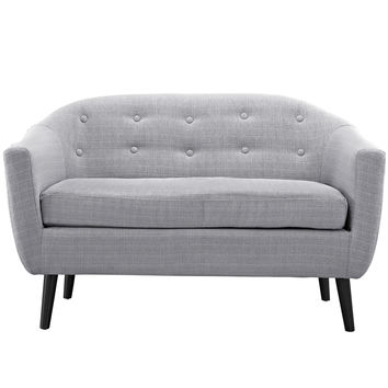 Wit Loveseat in Light Gray