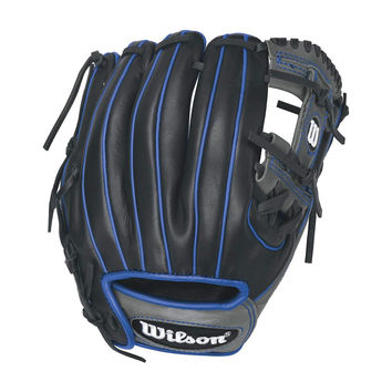 "Wilson 6-4-3 1786 11.50"" Infield Glove Royal Accent - RHT"
