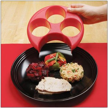 2017 Meal Measure Portion Control Cooking Tools Lose Weight Tool Kitchen Food Eco-Friendly Plate