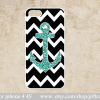 chevron iPhone Case,iPhone 4 Case , Anchor iPhone 4s Case, Geometric iphone 4 case,cover skin case,Geometric,hard Plastic Phone Case