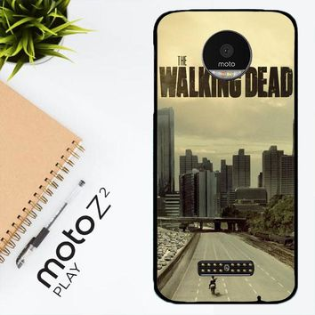 Walking Dead Daryl Dixon F0243 Motorola Moto Z2 Play Case