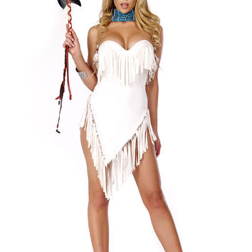 Exotic Sexy Fabulous Feathers 3Pc. Costume