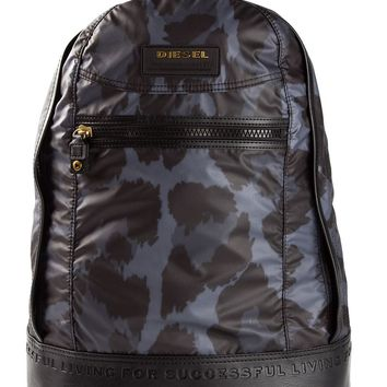 Diesel 'New Ride' leopard print backpack